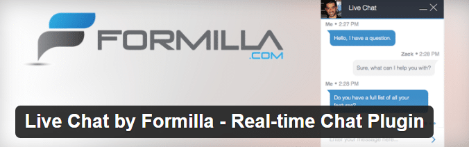 live-chat-by-formilla-real-time-chat-plugin