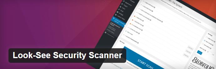 Look-See Security Scanner: plugin vulnerability plugin