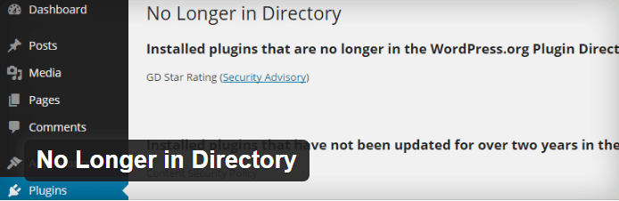 No Longer in Directory:  vulnerability plugin