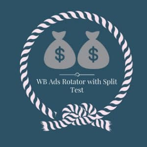Ads rotator Split test plugin